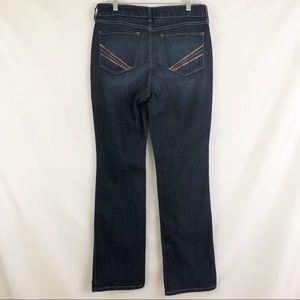 NYDJ Barbara Bootcut Jeans Size 10 NWOT High Rise